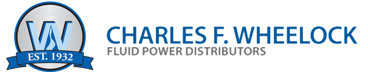 Official Logo of Charles F. Wheelock - Fluid Power Distributors | Leader in hydraulic and pneumatic distributors, parts, equipment and products.
